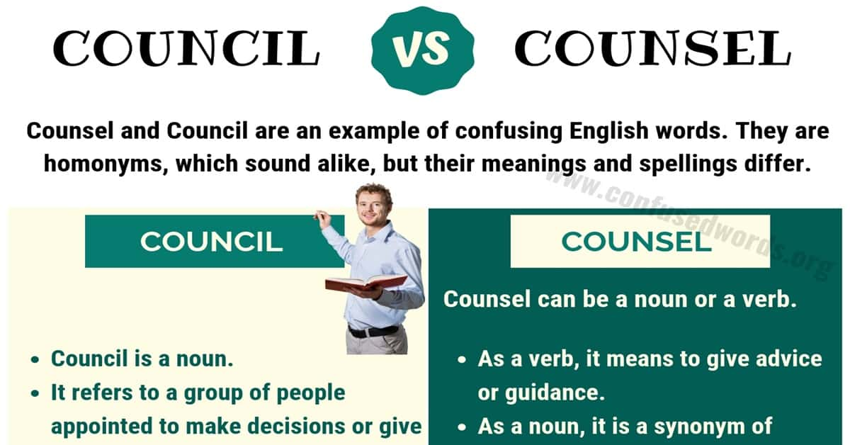 Council vs Counsel