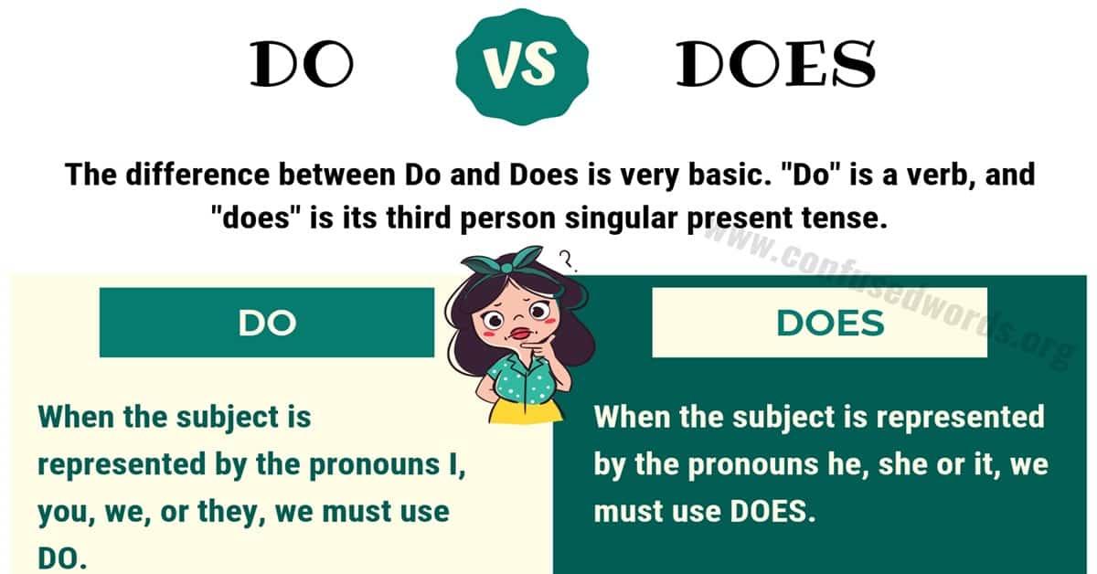 DO vs DOES