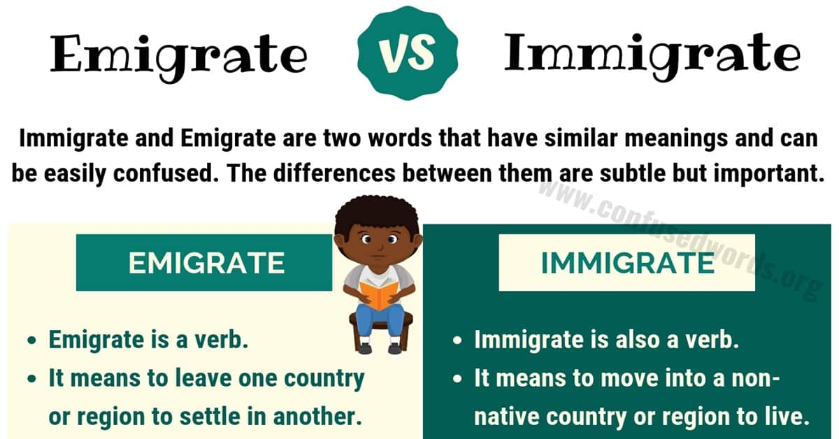 Emigrate vs Immigrate: How to Use Immigrate vs Emigrate Correctly 1