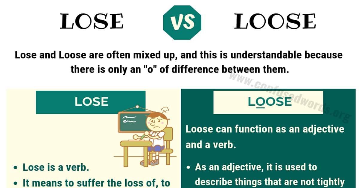 Lose vs Loose