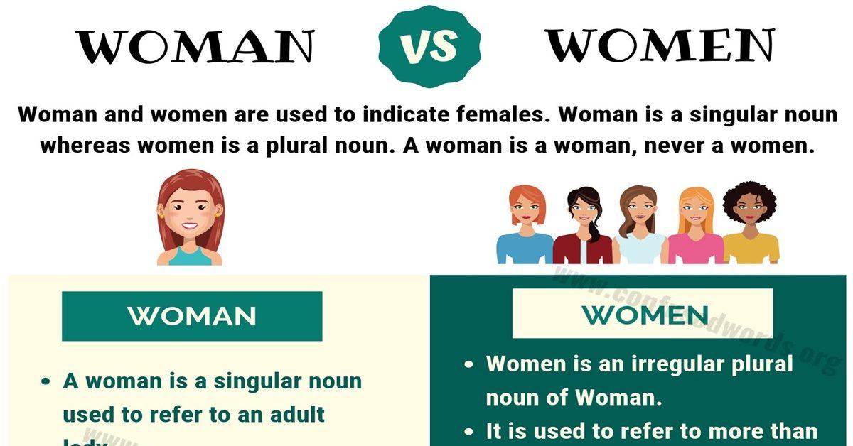 Woman vs Women