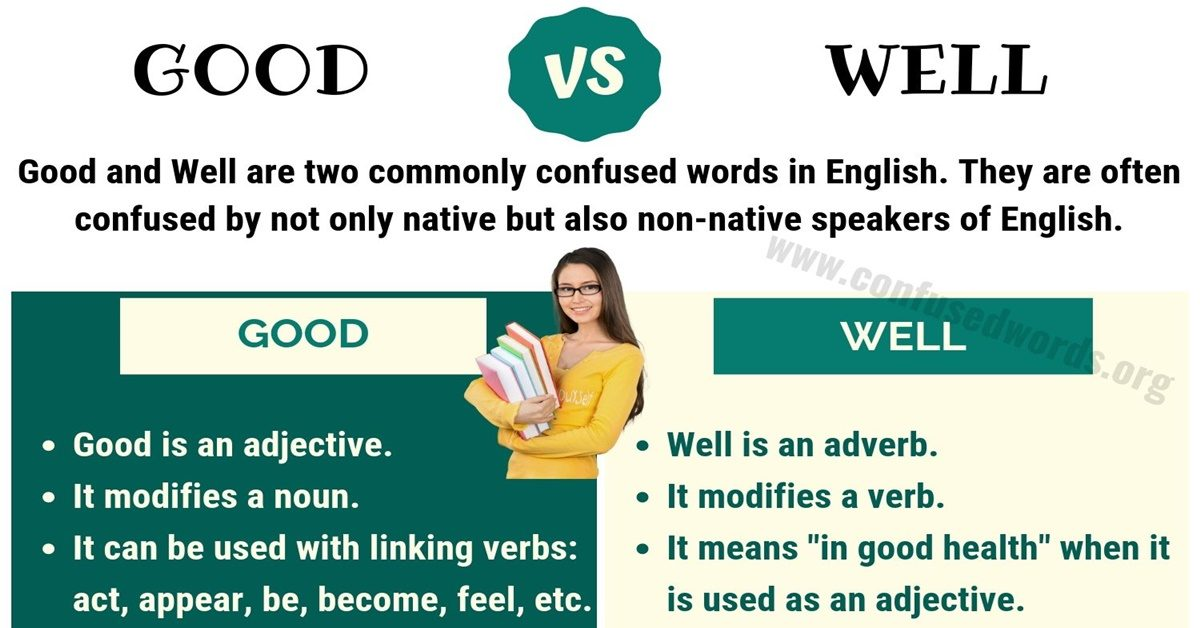 Good vs Well