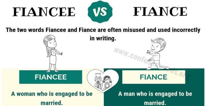 FIANCEE or FIANCE: How to Use Fiance vs Fiancee Correctly?