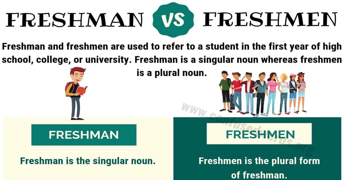 Freshman or Freshmen