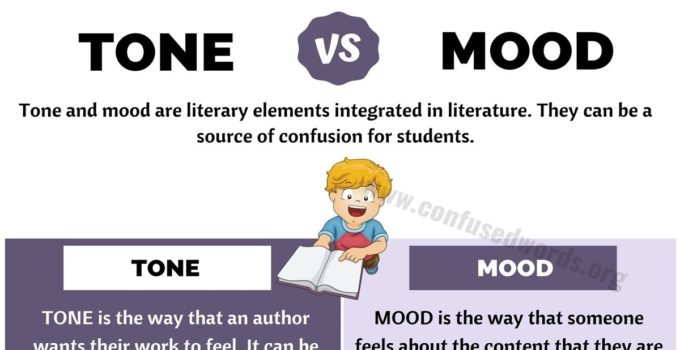 TONE vs MOOD: How to Use Tone vs Mood in Literature?