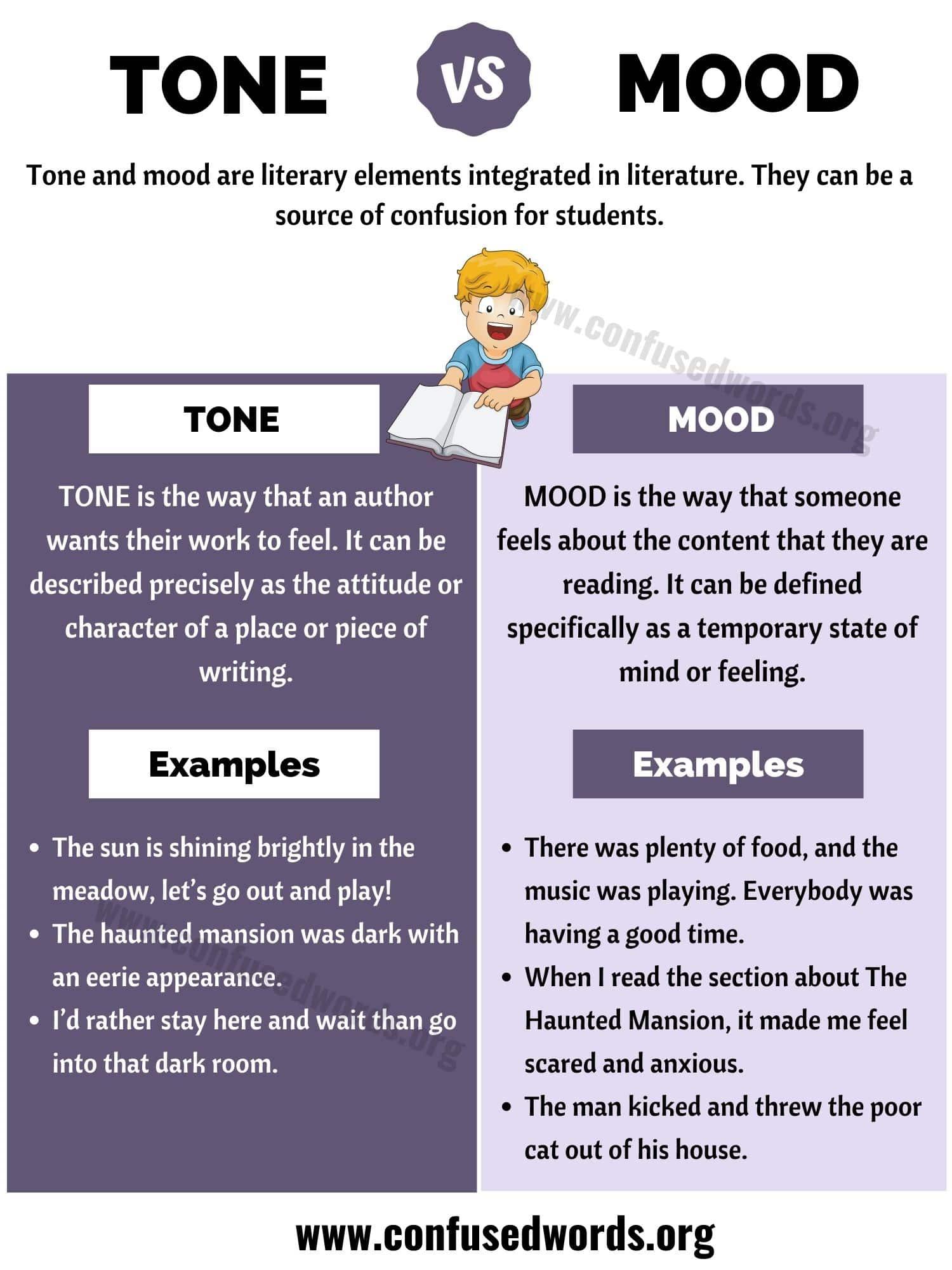 Tone vs Mood