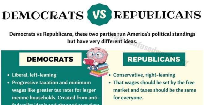 Democrats vs Republicans: Big Differences between Democrats vs Republicans